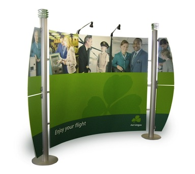 Portable Display Stands, Ireland - Applied Signs & Display, Dublin