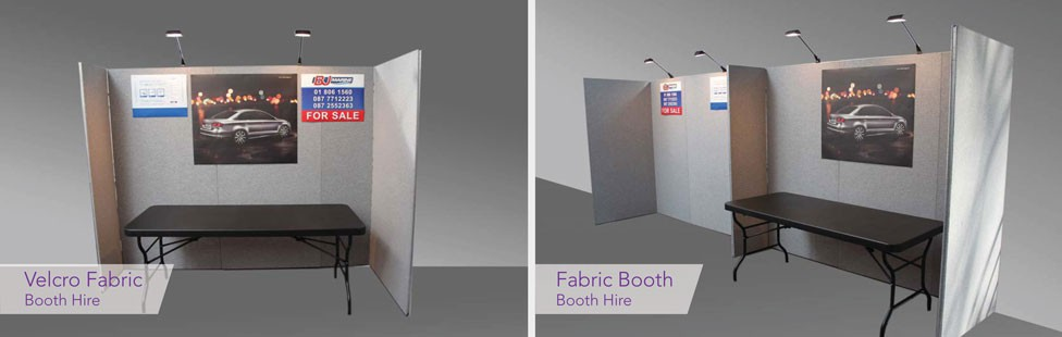 Booth Hire for events