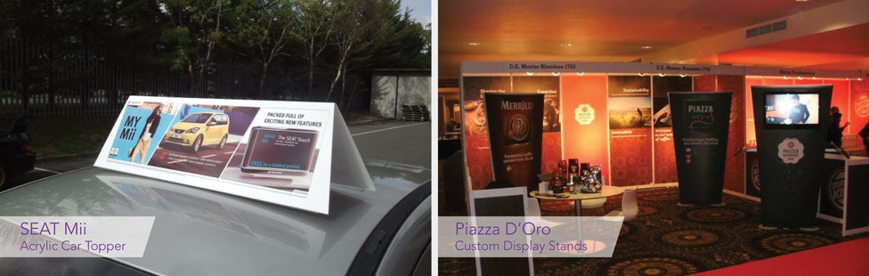 Custom Display Items ireland