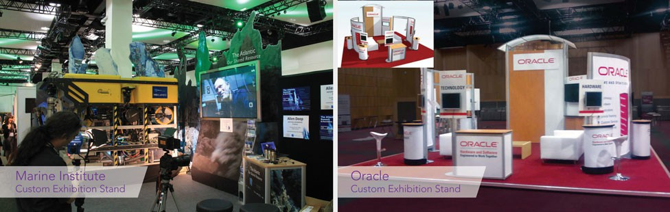 Hire An Exhibition Stand : Exhibition display stand hire ireland applied signs
