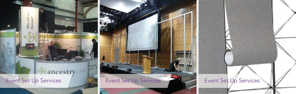 event set up services in ireland