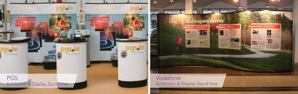 Exhibition Stall For Rent : Exhibition display stand hire ireland applied signs & display