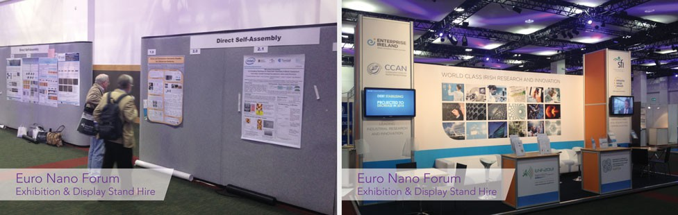 Stand Hire For Exhibition : Exhibition display stand hire ireland applied signs display