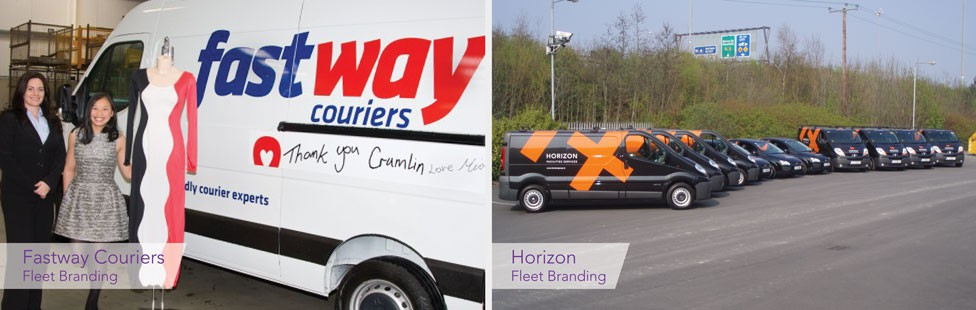 fleet branding in ireland