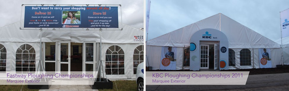 branded marquee displays ireland