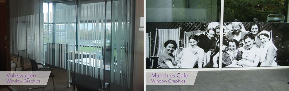 Office Window Graphics Dublin