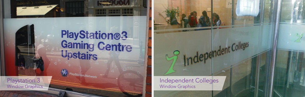 shop window graphics dublin