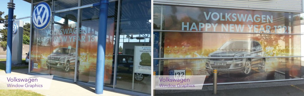 Showroom Window Graphics Ireland