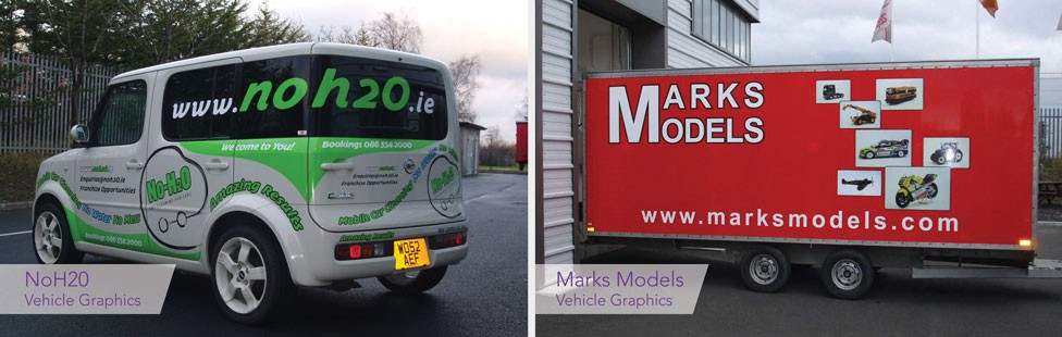 vehicle graphics signs dublin