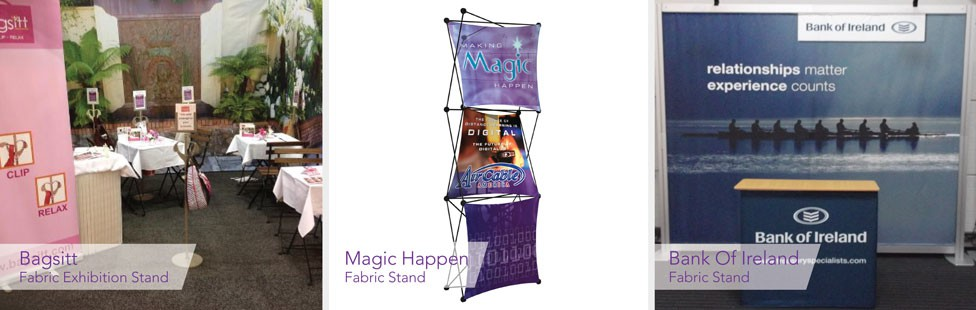 printed fabric stands ireland