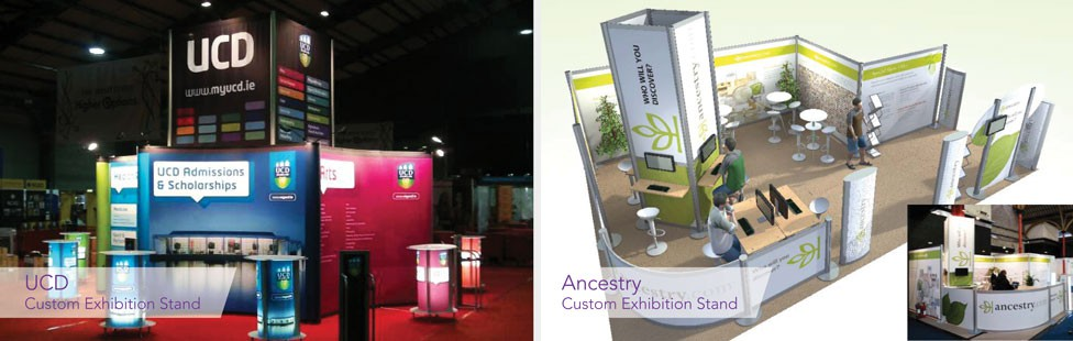 custom exhibition stand ucd