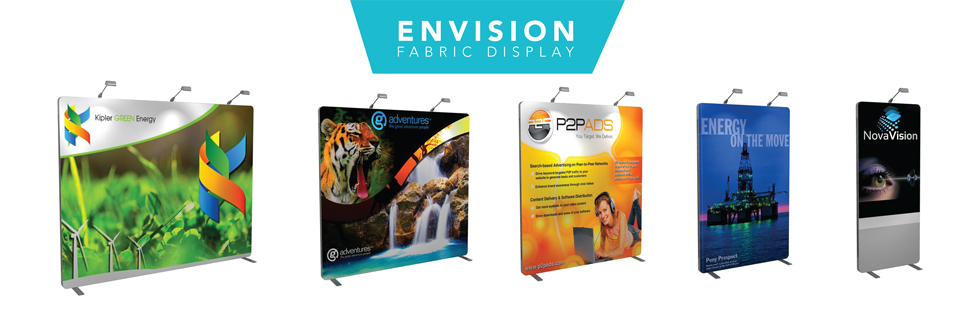 Nomadic Envision Fabric display stand - easy set up