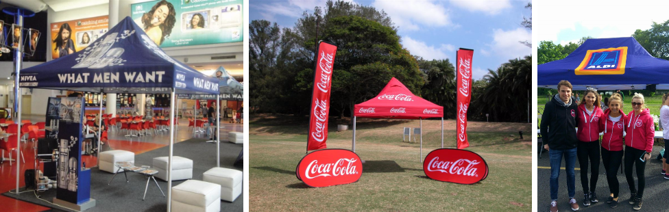 branded gazebos custom printed tents ireland