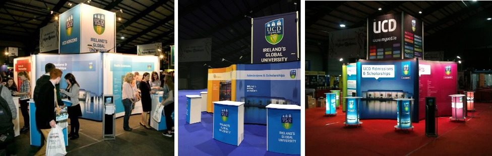 large exhibition stand displays ireland